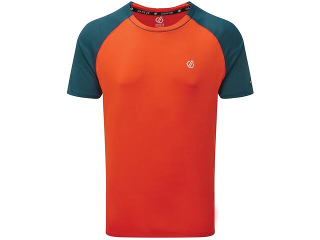 Dare 2b Peerless T-Shirt Herren trail blaze/majolica blue